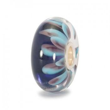 Trollbeads petali blu